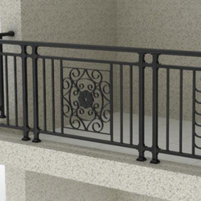 阳台铁艺花栏杆