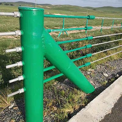 A级(六索)防撞缆索护栏