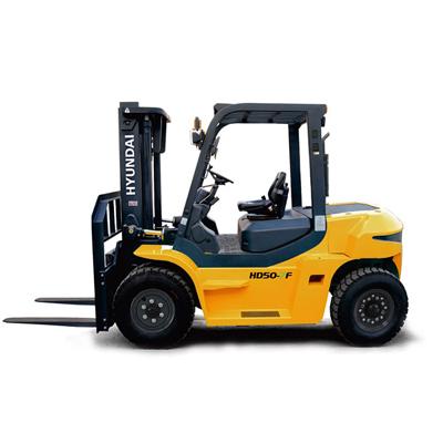 现代叉车HD50-7F内燃平衡重叉车