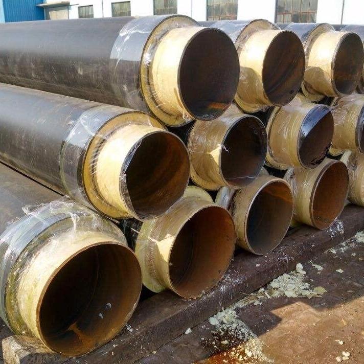供热管道输送聚氨酯保温钢管厂家