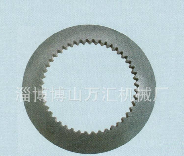 淄博万汇厂家直销气动离合器配件 内42 45齿齿形片 砖机配件