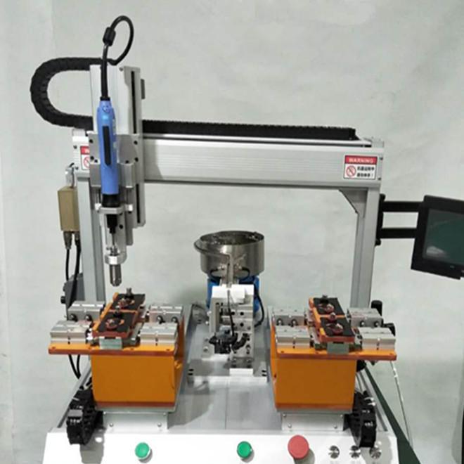 厂家直销 四轴自动压螺母机 自动拧螺母机 自动锁螺母机