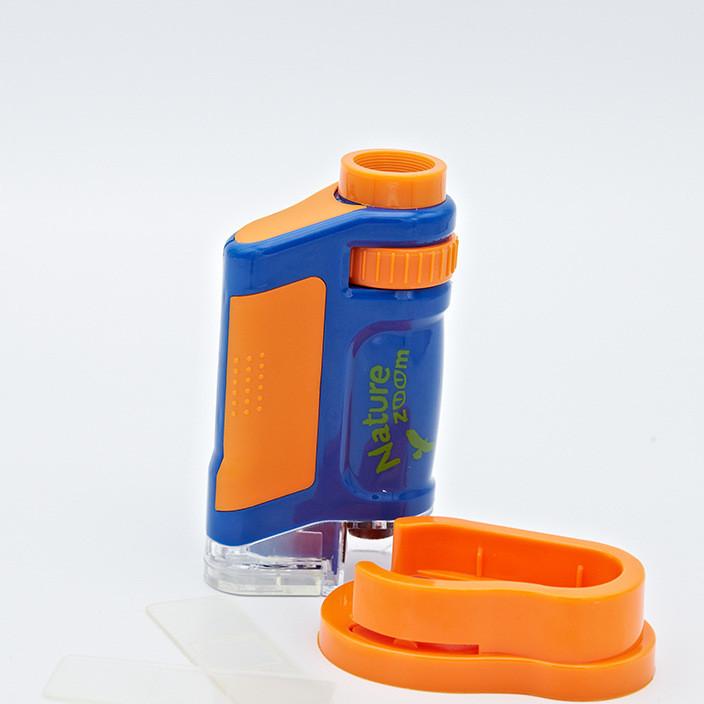 义乌厂家定器材 20-40倍教学显微镜 带灯载玻片 生物显微镜批发
