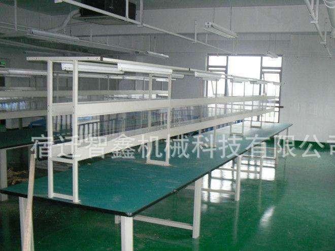 流水线皮带输送机 电子电器组装生产线操作台 非标流水线定制