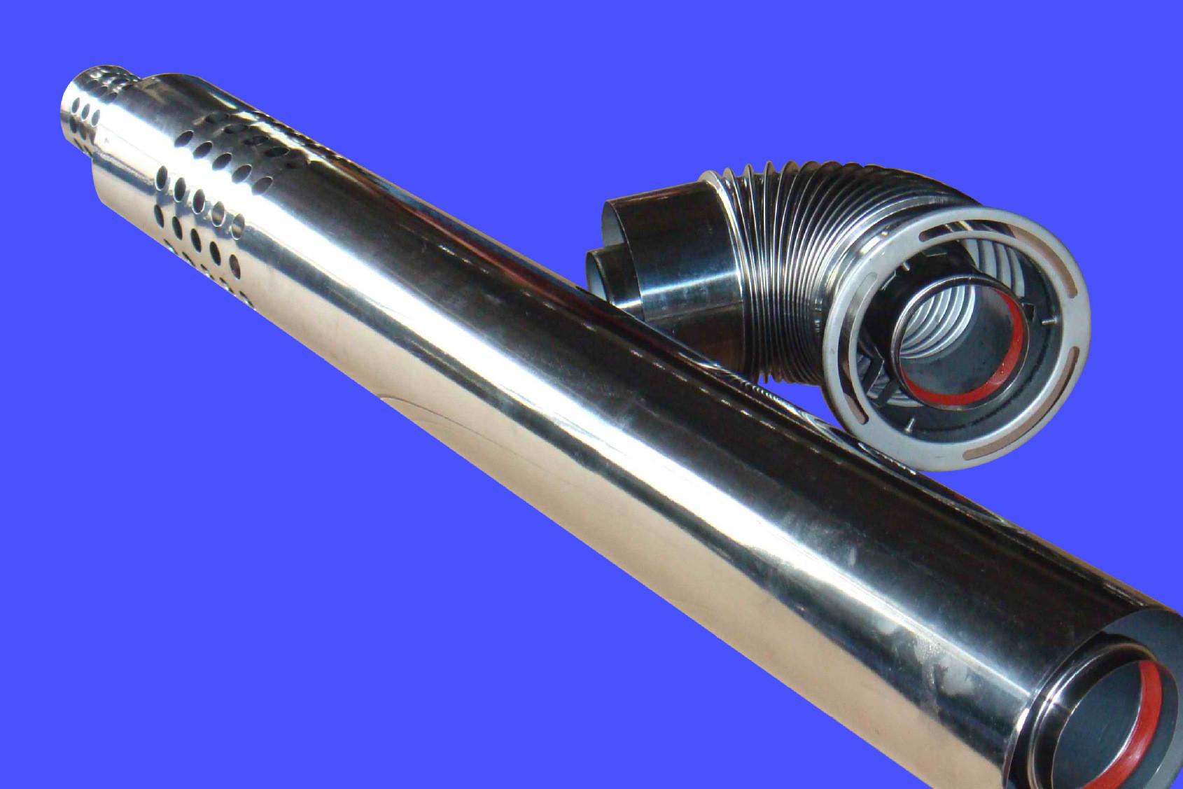 燃气热水器排烟管 壁挂炉排烟管 平衡式强排排烟