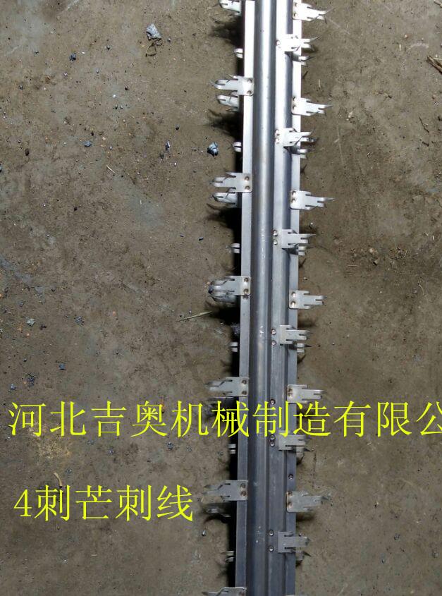 芒刺线解决结球现象 放电 耗电量极低