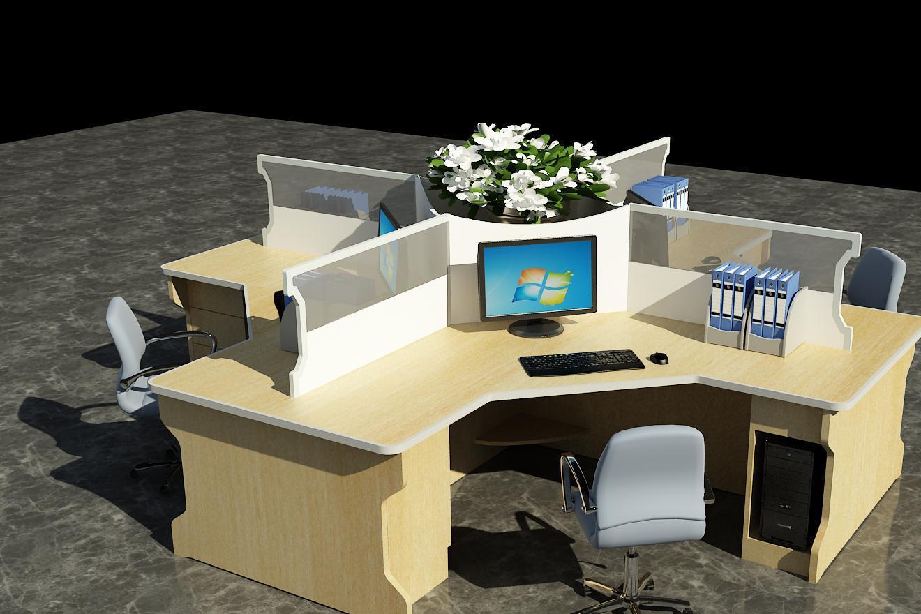 厂家直销定制高端办公桌椅 豪华版对坐非编台 可来图来样定制