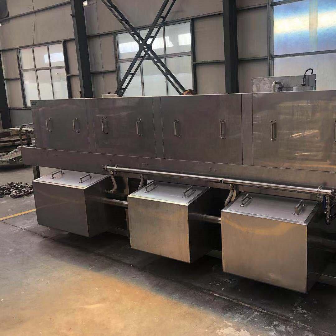厂家直销 整机304不锈钢智能高压热水洗箱机 洗筐机