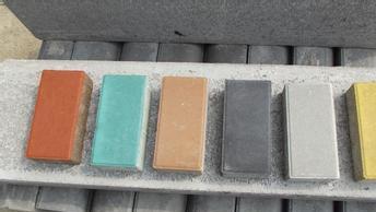 彩砖面包砖透水砖海棉砖人行道混凝土水泥砖实心道板砖荷兰砖地砖