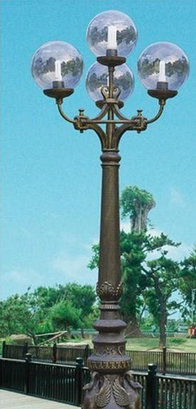 LED太阳能压铸铝庭院灯庭院灯厂家欧式庭院灯公园广场庭院灯