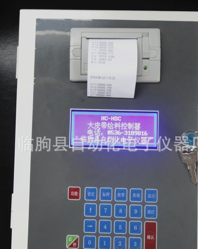 供应 XC-HSC大皮带智能仪表 输送皮带秤 输送皮带机计量