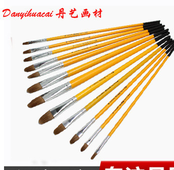 厂家直销凡高826油画笔 精品狼毫丙烯画笔 油画专用笔量大优惠