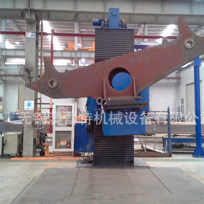 工程机械厂家定制L型焊接变位机 液压升降双回转 操作方便