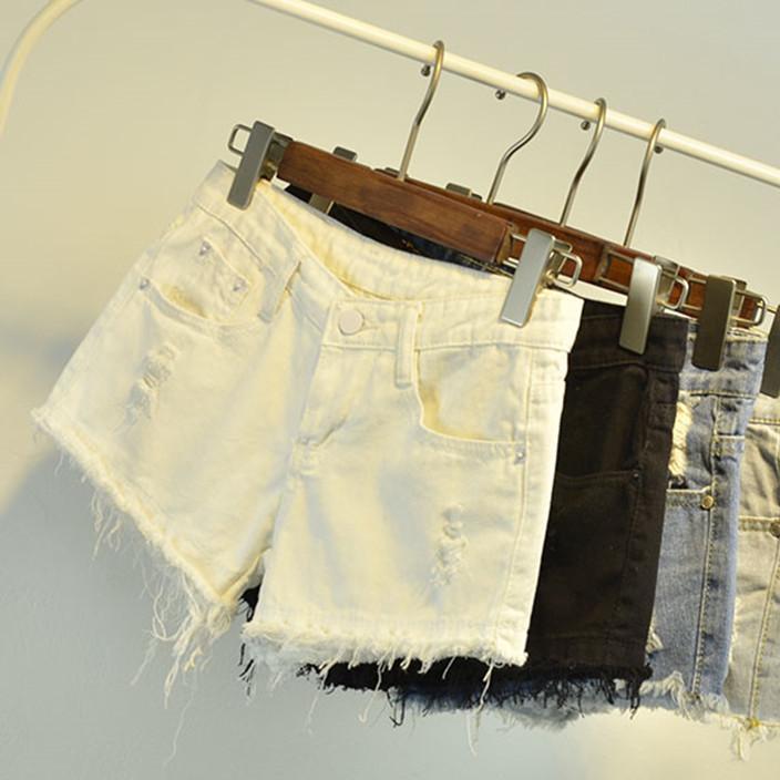 厂家直销夏季地摊热卖牛仔短裤裙库存尾货女装杂款韩版牛仔裤批发