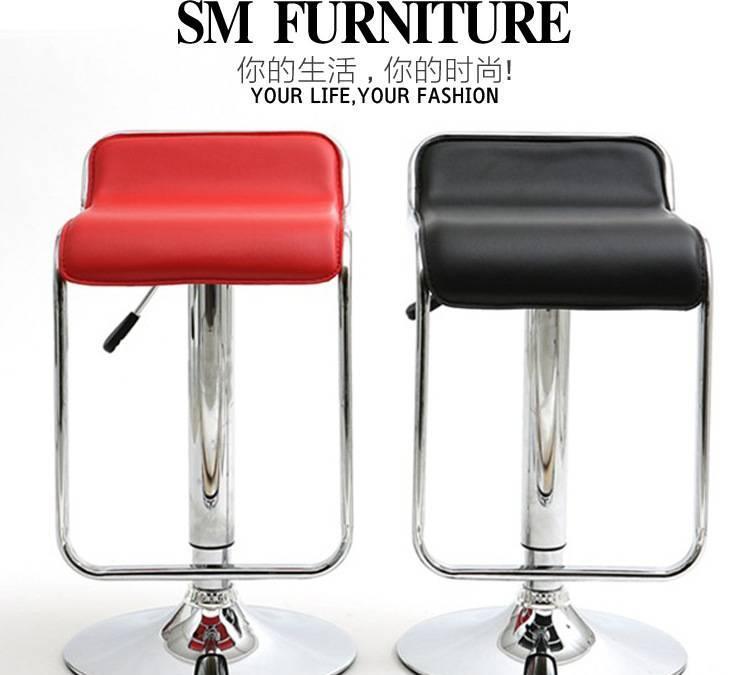 欧式酒吧椅子 接待高脚吧台椅 会展白椅 时尚创意家具批发