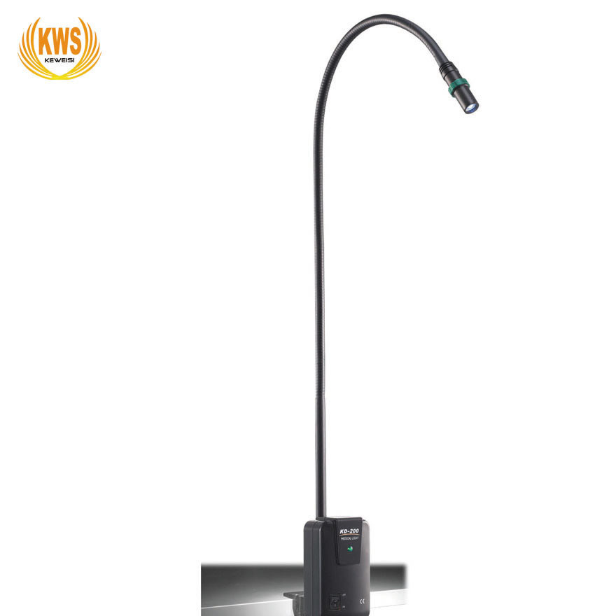 3W LED夹式轻型软管光斑可调医用工业冷光检查鉴定检测台灯