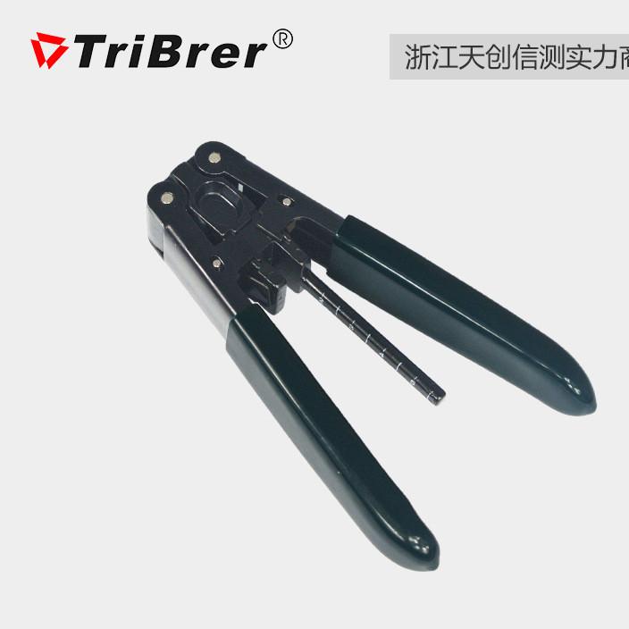 上海信测皮线开剥器光纤剥线钳带刻度CLV-400FTTH冷接工具包邮