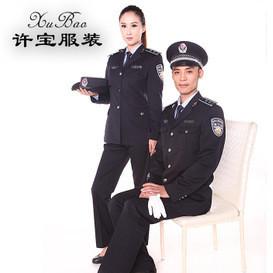 厂家定制供应行政单位标志服装 春秋常服保安服工作服标志服