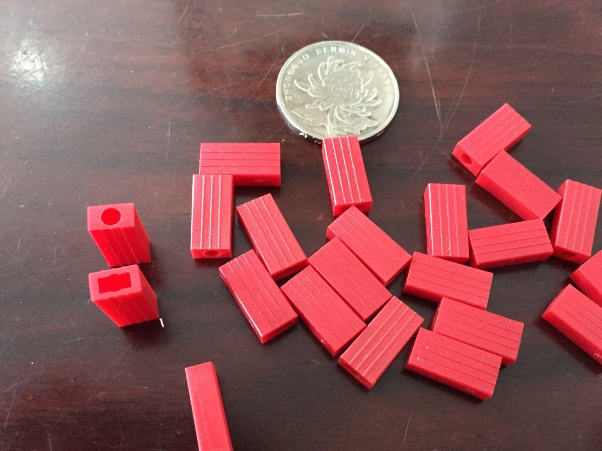大量生产鳄鱼夹套管 红色PVC套管 自动裁切028鳄鱼夹套管