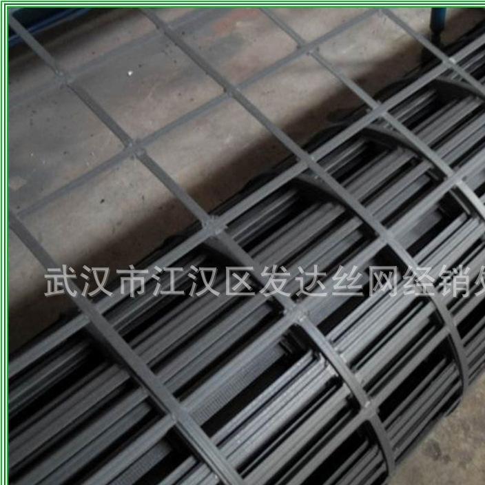 土工材料厂家直销 土工网 双向拉伸塑料土工格栅 矿用塑料格栅