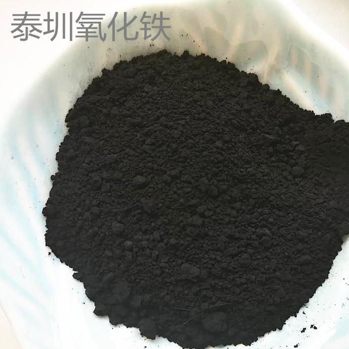 厂家供应氧化铁黑颜料 耐高温氧化铁 水泥制品 无机颜料色粉铁黄