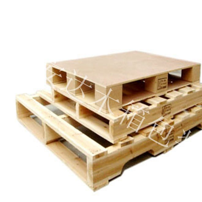 川字木卡板 四面进叉木托盘 免熏蒸出口深圳木卡板定制生产直销
