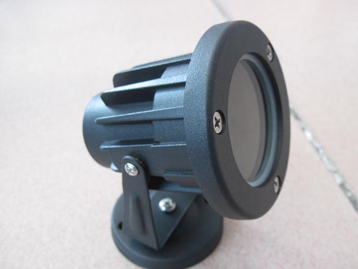 供应LED大功率3w/5w圆形投光灯/射灯外壳
