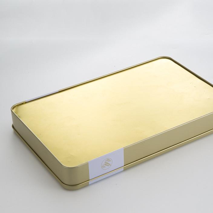 厂家定制长方形马口铁包装月饼盒礼品盒保健品盒金属制品包装