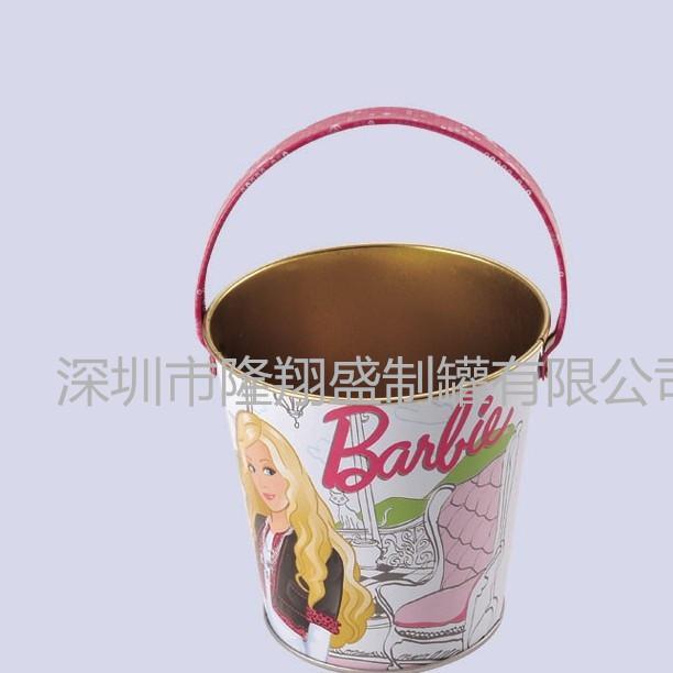 笔筒儿童玩具桶水桶糖果零食桶厂家直销马口铁桶可定制