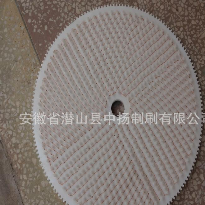 生产供应圆盘毛刷 尼龙盘刷 耐磨丝圆毛刷