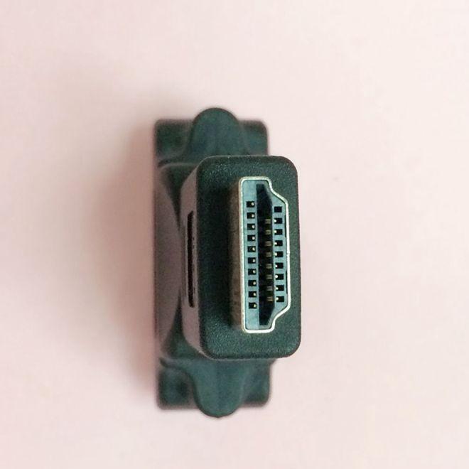 DVI转HDMI转接头 母对公/DVI转HDMI转换头 双向转接头/口,黑色