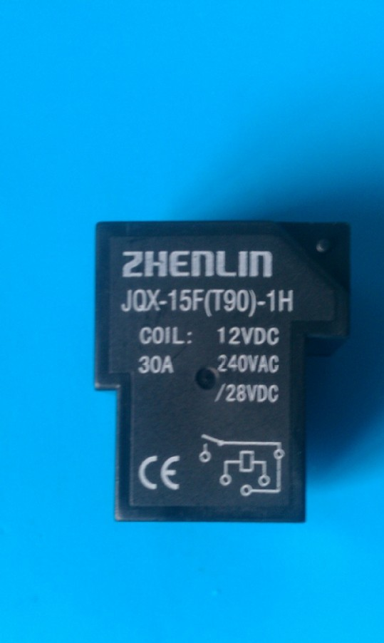 生产供应JQX-15F(T90)常开型 继电器 线路板用继电器