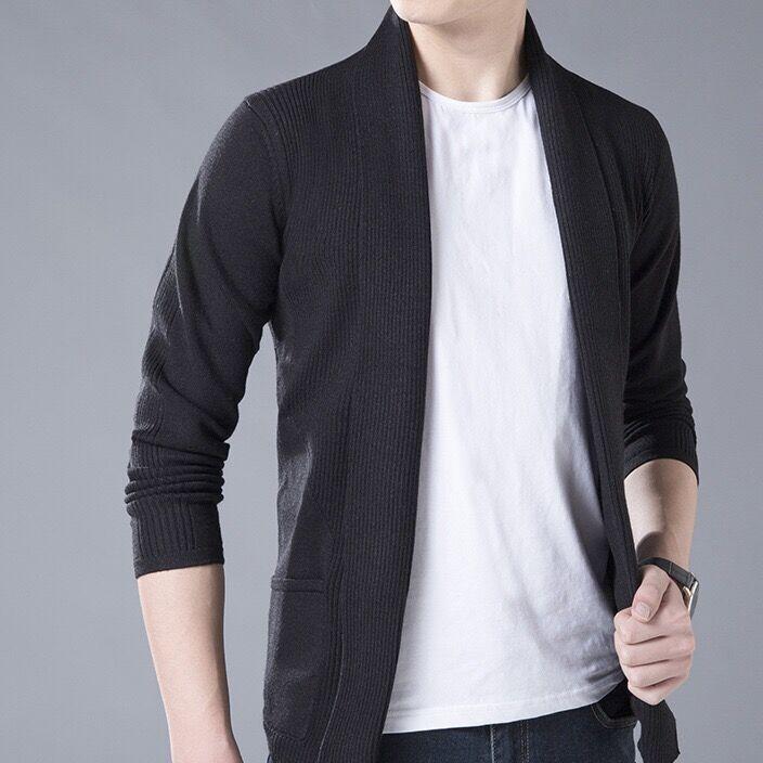 2018春季新款男装不起球针织开衫舒适新品男士韩版休闲男式毛衣