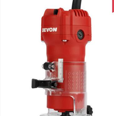 DEVON大有电木铣木工雕刻机1326-5-6 开槽机大功率修边机电动工具