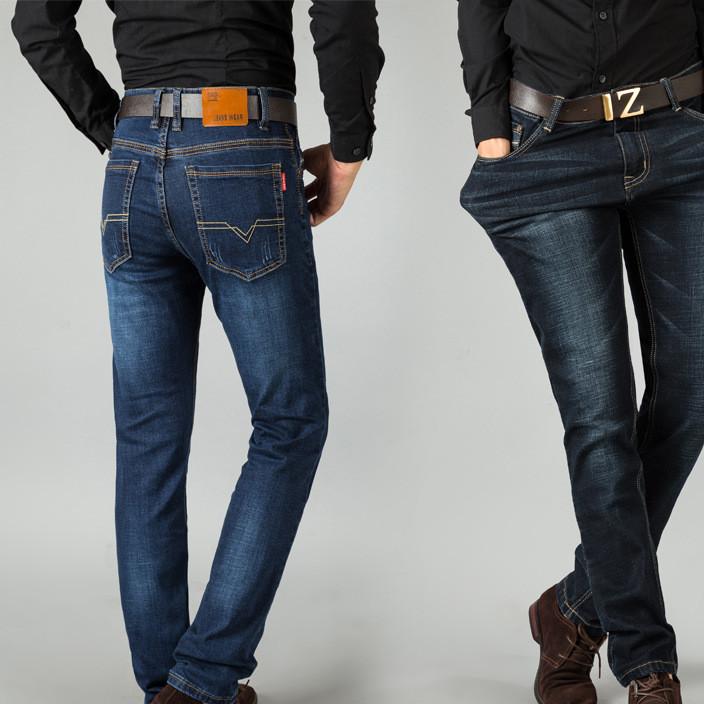 批发男式牛仔裤网络爆款中年修身商务弹力牛仔裤时尚男装加盟代理