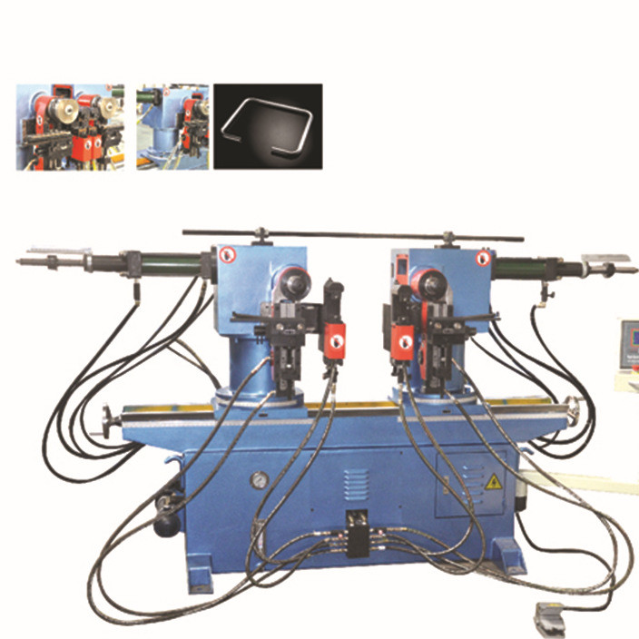 金属机械 数控弯管机 内外可调90度SW38A液压双头弯管机 厂家直销