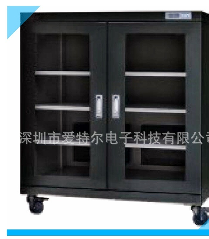 工业435L超低湿双开门电子防潮箱数控防潮柜半导体器件储存干燥柜