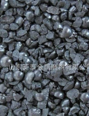 大量供应山东开泰铸钢砂 角丸G12 清理除锈砂 厂家直供