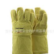 苏州隆泰 卡司顿总代 YAEE15-34 500度 耐高温手套 带硅胶涂层