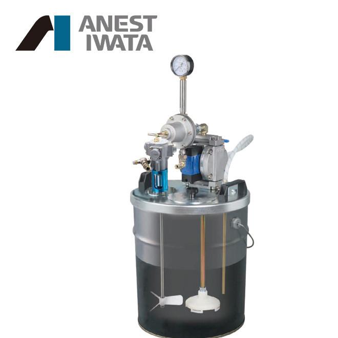 日本岩田双隔膜泵 DPS-702C桶装式气动隔膜泵 喷涂小型输送泵