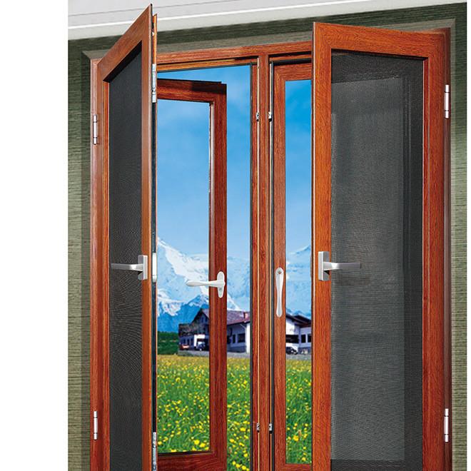 工厂直销 断桥铝合金窗 平开窗 塑钢窗