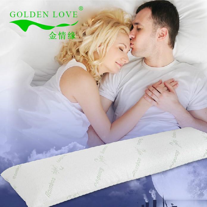 金情缘泰国进口天然乳胶枕头双人情侣夫妻枕工厂直销批发零售