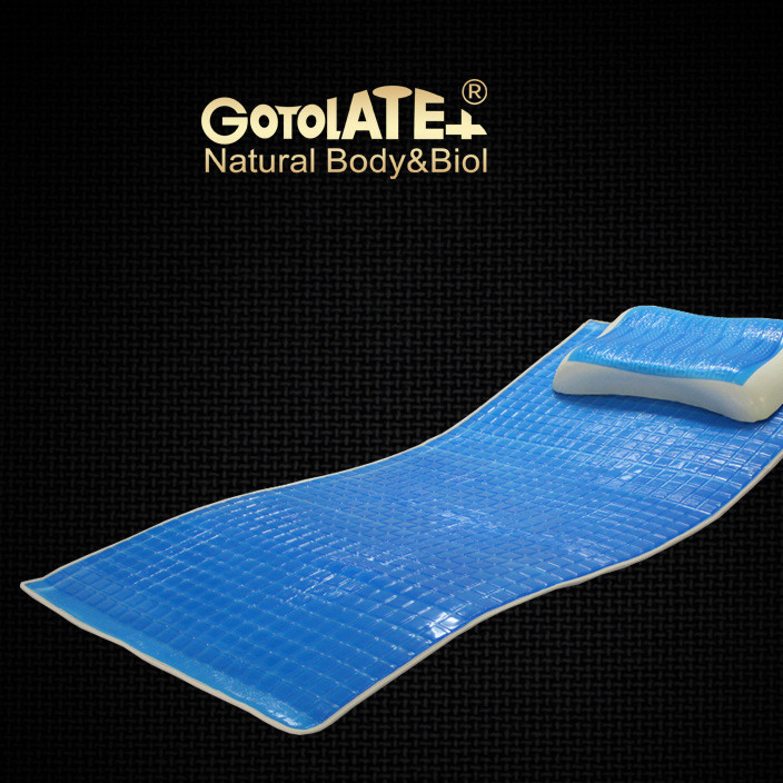 GOTOLATEX 国产凝胶床垫凝胶冰垫清凉垫凉席柔嫩亲肤享受1cm清热