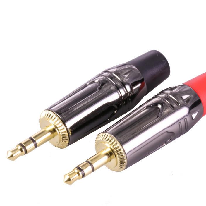 3.5mm插孔外径= 12.8mm麦克风插头音频连接器3.5mm立体声插头组件