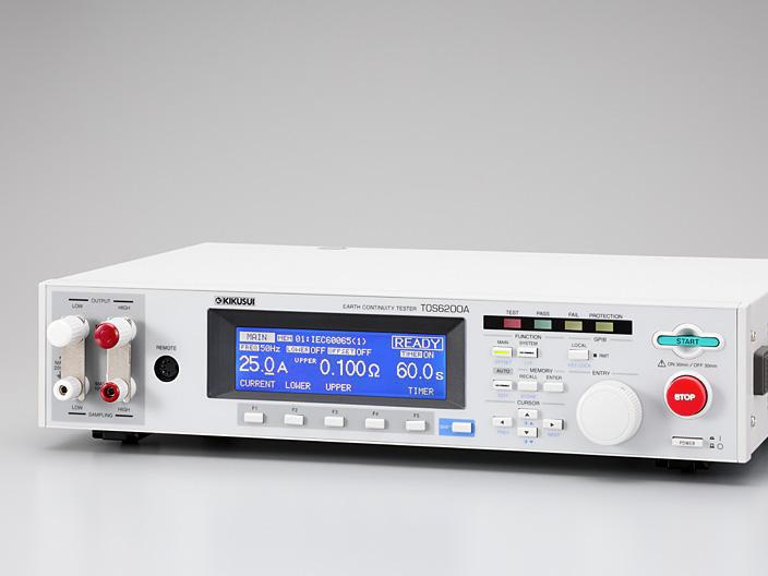 菊水KIKUSUI TOS6210[60A] 地线 接地导通测试仪 接地电阻测量