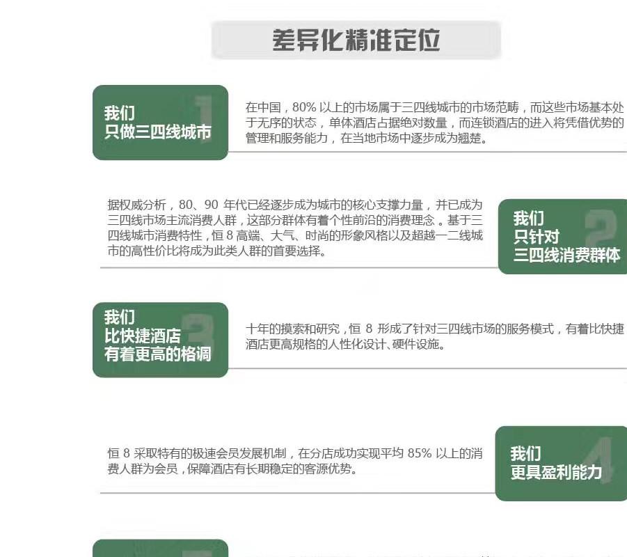 恒8连锁酒店 三四线城市风尚精品酒店专家示例图7