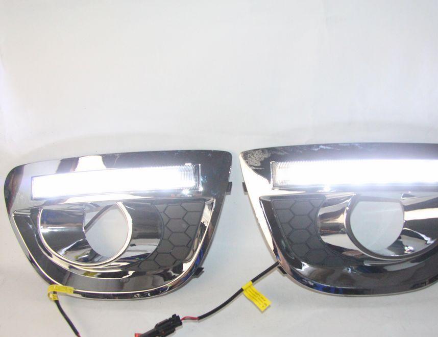 长城M4专用LED日行灯 11-13款哈佛M4专用日间行车灯 M4雾灯改装