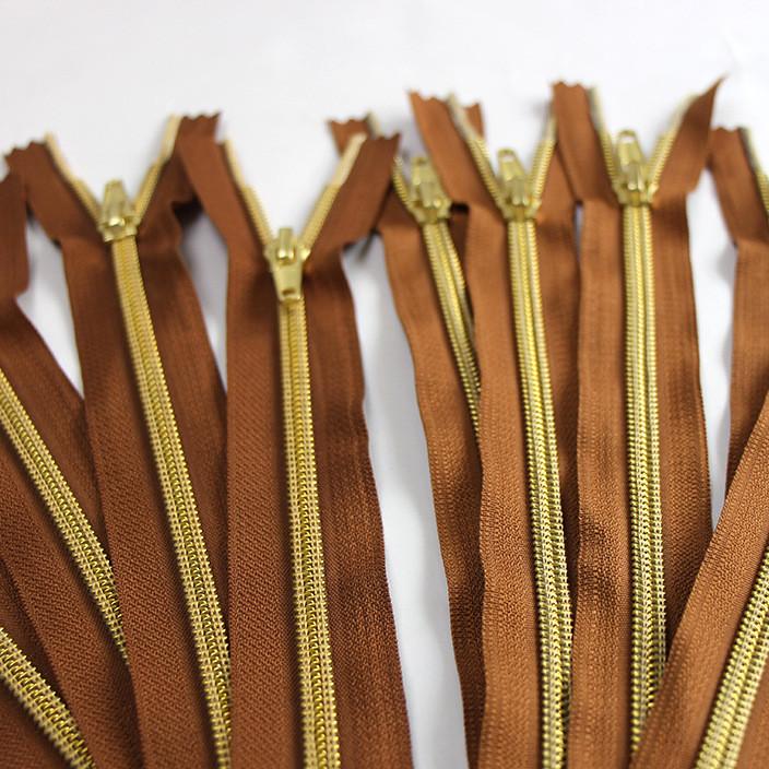 5# 尼龙真空电镀拉链 箱包服饰配件 厂家供应时尚简约环保拉链