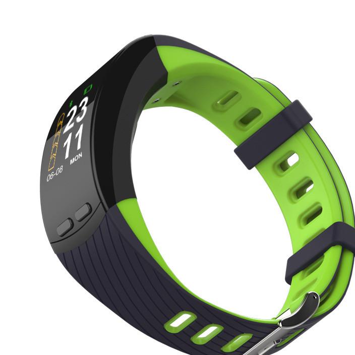 厂家直销P5双色表带 智能手环蓝牙游泳防水 计步运动智能手环