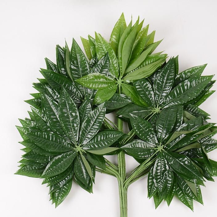 仿真叶 仿真植物造景树枝塑料装饰植物 客厅装饰绿植盆栽批发
